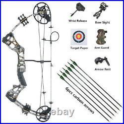 Kinder Compound Bogen Pfeil Set 15-45lbs Junior Anfänger Bogenschießen Jagd