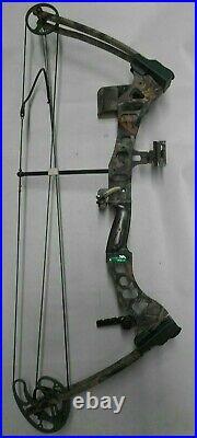 LEFTHAND! Bear Archery Element Compound Bow Package! LH 29/60 50-60lb