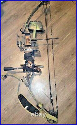 MARTIN PANTHER BOW right hand FULLY LOADED 29 70LB lots of extras