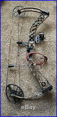 MATHEWS CREED BOW LH 26.5 70lbs super clean with extras