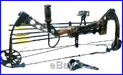 MATHEWS SOLOCAM SWITCHBACK XT 27 DRAW 60LB RH With Case, Quiver Arrows