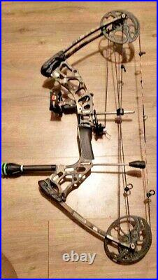 MISSION HAMMR BOW 17-70lb 17-29 right hand fully loaded
