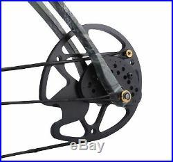 Mammoth Archery compound RH bow 60Lbs withARROW & Board Black