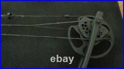 Man Kung Aurora Compound Bow 30-55lbs Black RH