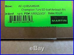 Martin Champion Fury Compound Bow 60lb Short Draw Right Hand Ambush Color