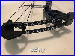 Martin Champion Haze Purple Compound Bow 50lb Right Hand