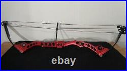 Mathews Conquest 4 Compound Bow 60lbs Red RH 40 Axle