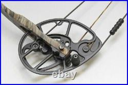 Mathews Heli-M Hunting Compound Bow 50-60 lb 27 Draw HHA Sight Axion Stabilizer