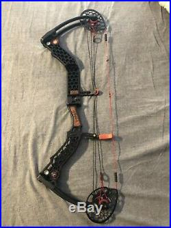 Mathews McPherson Safari. Red Trim, 85lb 31- compound bow