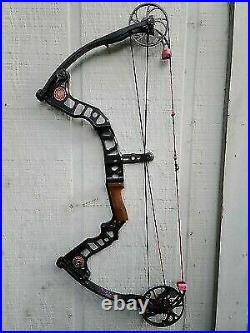 Mathews Passion Compound Bow Black New String / 40 60lbs / 26.5 Draw Length