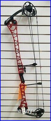 Mathews TRX 7 Compound Bow RH 6lb 28 Draw RED