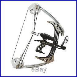 Mini Compoundbogen Set 14 Zoll 25lbs Jagdbogen Bogenfischen Bogenschießen Jagd