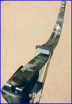 Mint Oneida Aero Force X80 Eagle Bow Rh 30-50-70 Lb 25-29 Short Draw Huntfish