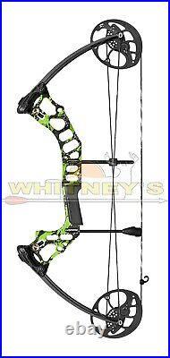 Mission by Mathews Hammr Right Hand Green Splash DW 16-70 lbs DL 17-29