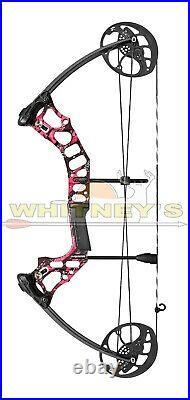 Mission by Mathews Hammr Right Hand Pink Splash DW 16-70 lbs DL 17-29