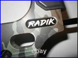 Mission by Mathews Radik Realtree Camo Compound Bow Package! RH 10-50lb. 17-28