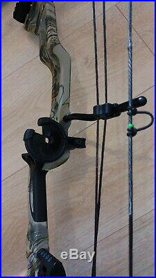 NEW ASD Mirage 70lbs 300fps Compound Bow BUNDLE + EXTRAS Arrows, Trigger, Bag