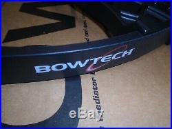 @NEW@ Bowtech Carbon Icon Black Compound Bow RAK Package! LH 26.5-30.5 60-70lb