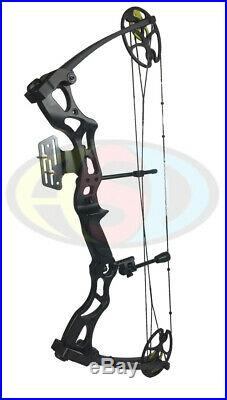 New 2020 ASD Black Pro Series Adult Archery Compound Bow 40 70lbs