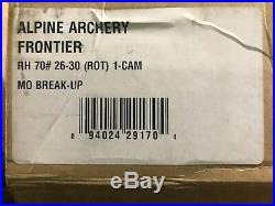 New Alpine Frontier Right Hand 60-70lbs
