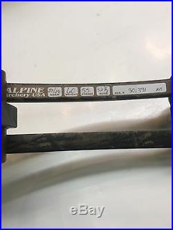 New Alpine Ventura Bow RIGHT HAND 50-60lbs
