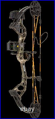 New Bear Archery Royale Rth Bow Package, Strata Camo, 50lb, Righthand