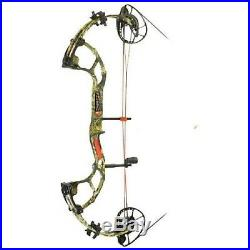 New PSE Inertia Right Hand 24.5 30 Country Camo 70 lbs. Compound Bow