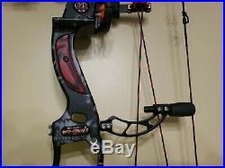 Obsession Archery Def Con M7 3d Compound Bow Kryptek Camo Rh/29/60lb Package