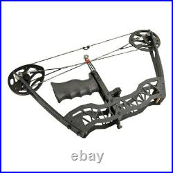 Outdoor Archery 40lbs Compound Bow Set With Laser Sight Arrows Right/Left Hand