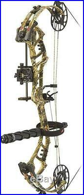 PSE Bow Madness Unleashed RTS Pro RH 70lb Country Camo 25/30.5