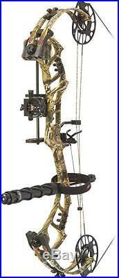 PSE Bow Madness Unleashed RTS Pro RH 70lb Mossy Kryptek Highlander 25/30.5
