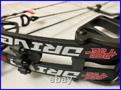 PSE Drive NXT 45 to 70lb Compound Bow, RH, DL 24 to 31-Color Black 2021