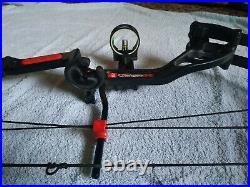 PSE Stinger X Compound Bow RH 60lbs + Sight + Carbon Fibre Arrows + Tips + More