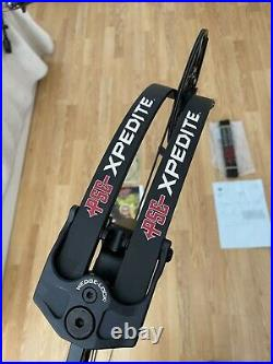 PSE Xpedite NXT 2021 60-70lbs Blackout 360fps Compound Bow