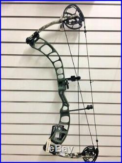 Prime Centergy R/H 70lb 29 Draw Ghost Green Riser/Subalpine Optifade Limbs