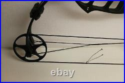 Pse Stinger Max Black Compound Bow Left Handed 29-70 Lbs Draw Length 22.5-30