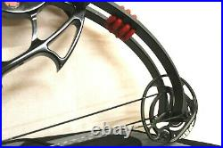 Pse Supra Ext Black Compound Bow 25 To 30.5 Draw Length 50-60lb Draw Weight
