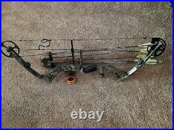 Raptor Forge Bow Package Realtree Xtra- Black 70 lb. RH