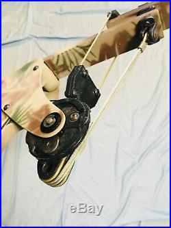 Rare Best Oneida Made Eagle Tom Cat T3 Eagle Bow Left X80 20-25-45 lb 25-30
