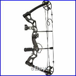 SAS 70LBS Compound Bow Package with Bow Sight Arrow Rest Stabilizer Sling