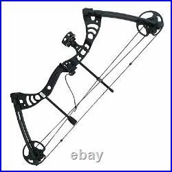 SAS Scorpii 55lbs Bow Kit with Arrow Rest, Sight, Release, Arrows Black Open Box
