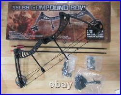 Sportlicher hochwertiger Compound Bogen Set Aurora 30-50 lbs 795 cm 8278