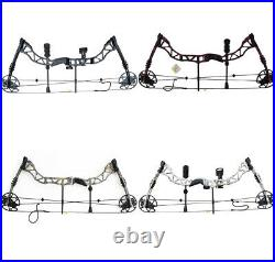 Takedown Archery Compound Bows 35-70LBS Hunting Target Outdoor Beginner Practice