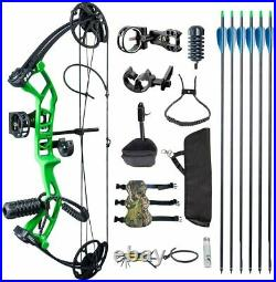 Topoint M2 Youth Archery Compound Bow Package 10-40 lbs 17-27