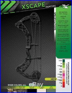 Xpedition Archery Xscape Realtree Excape RH 65lbs Brand New! QUARANTINE SALE